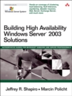 Image for Building high availability Windows Server 2003 solutions