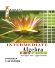 Image for Intermediate Algebra : Concepts and Applications