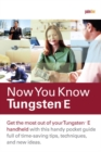 Image for Now you know Tungsten E