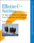Image for Effective C++  : 55 specific ways to improve your programs and designs