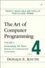 Image for The art of computer programmingVol. 4 Facsicle 4: Generating all trees