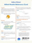 Image for Math for Allied Health : Study/Reference Card