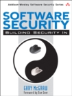 Image for Software security  : building security in