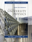 Image for University Physics : v. 1, Chapters 1-20 : Student Solutions Manual