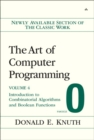 Image for The art of computer programmingVol. 4 Fasc. 0: Introduction to combinatorial algorithms and Boolean functions