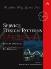 Image for Design patterns for domain services  : solutions for the foundational elements of service oriented architectures