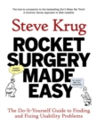 Image for Rocket surgery made easy  : the do-it-yourself guide to finding and fixing usability problems