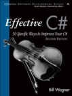 Image for Effective C: 50 specific ways to improve your C