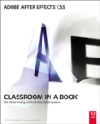 Image for Adobe After Effects CS5  : the official training workbook from Adobe Systems