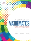 Image for A Survey of Mathematics with Applications