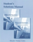 Image for Student Solutions Manual for Differential Equations : Computing and Modeling and Differential Equations and Boundary Value Problems: Computing and Modeling