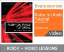 Image for Ruby on Rails tutorial and livelesson video bundle  : learn web development with Rails