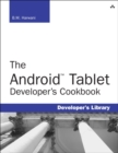 Image for The Android tablet developer's cookbook