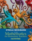 Image for Mathematics for Elementary Teachers with Activities Plus NEW Skills Review MyMathLab with Pearson eText-- Access Card Package
