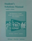 Image for Student's Solutions Manual for Introductory and Intermediate Algebra