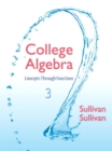 Image for College Algebra : Concepts Through Functions