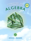 Image for Elementary & Intermediate Algebra for College Students, Media Update