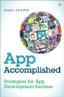Image for App accomplished  : strategies for app development success