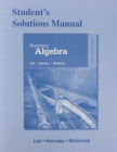 Image for Student's Solutions Manual for Beginning Algebra