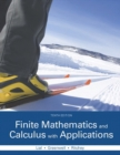 Image for Finite mathematics and calculus with applications