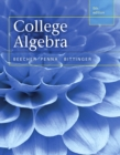 Image for College Algebra plus MyLab Math with Pearson eText -- Access Card Package