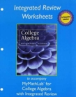Image for Worksheets for College Algebra with Integrated Review