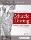 Image for Daniels and Worthingham's muscle testing: techniques of manual examination and performance testing.