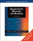 Image for Quantitative Methods for Business, International Edition (with Student CD-ROM)