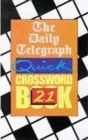 Image for The Daily Telegraph Quick Crossword Book 21