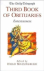Image for The Daily Telegraph third book of obituaries  : entertainers
