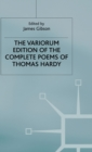 Image for The Variorum Edition of the Complete Poems of Thomas Hardy