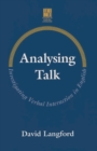 Image for Analysing Talk : Investigating Verbal Interaction in English