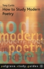 Image for How to study modern poetry