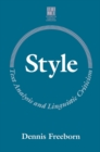 Image for Style  : text analysis and linguistic criticism