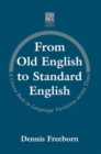 Image for From Old English to Standard English