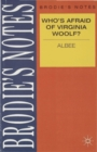 Image for Albee: Who's Afraid of Virginia Woolf?