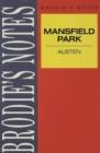 Image for Austen: Mansfield Park