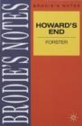 Image for Forster: Howards End