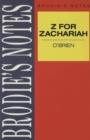 Image for O'Brien: Z for Zachariah