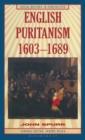 Image for English Puritanism