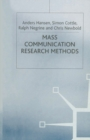Image for Mass communication research methods