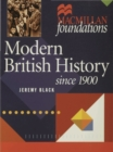 Image for Modern British history since 1900