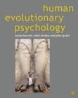 Image for Human evolutionary psychology