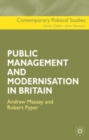 Image for Public management and modernisation in Britain