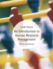 Image for Introduction to human resource management  : theory and practice