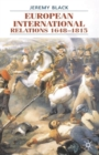 Image for European international relations, 1648-1815