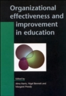 Image for Organizational effectiveness and improvement in education