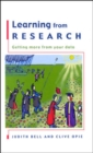 Image for Learning from research  : getting more from your data