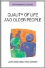 Image for Quality of life and older people