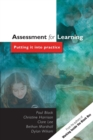 Image for Assessment for learning  : putting it into practice